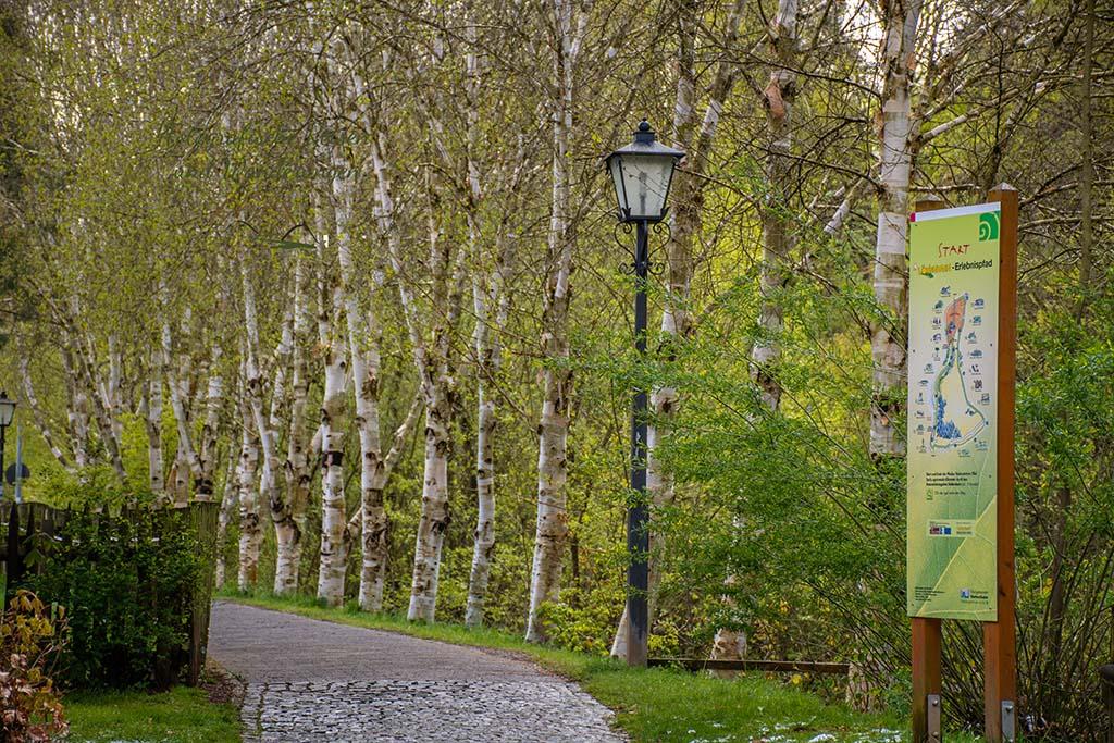 Tourismus Information - Winter im Mai auf dem Eifelsteig