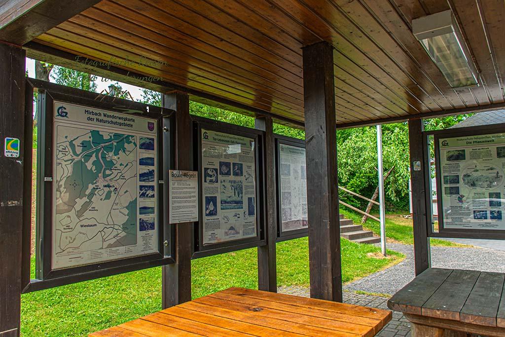 Station mit reichlich Informationen