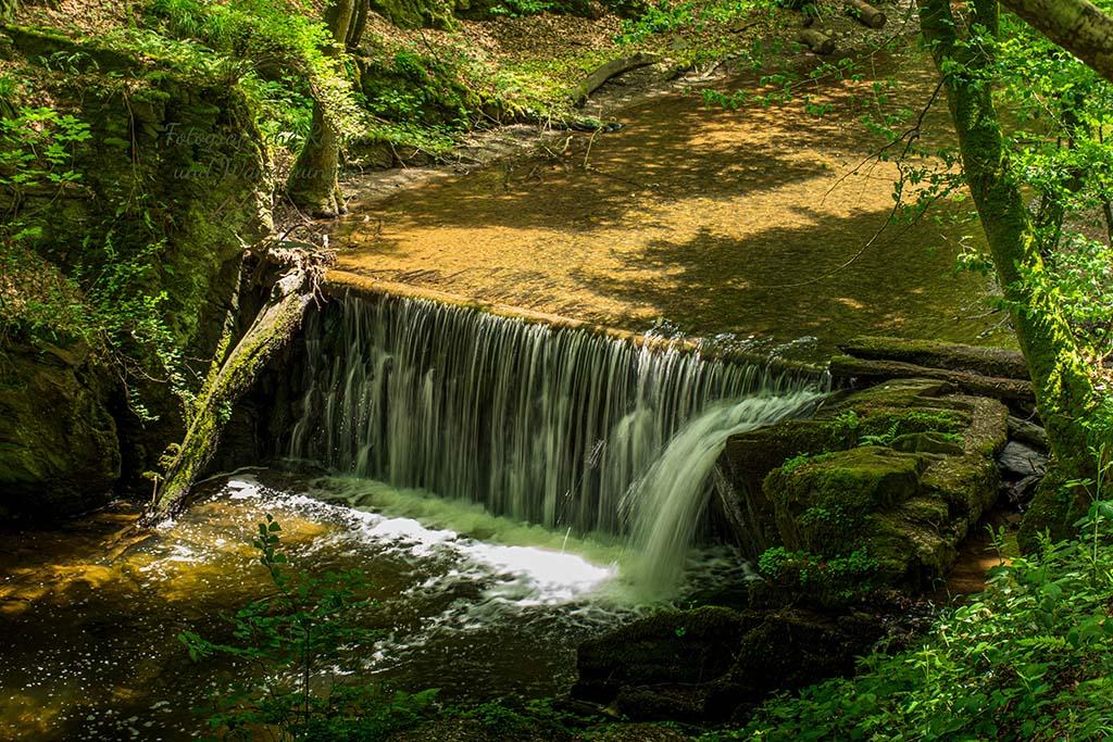 Wasserfall im Baybachtal