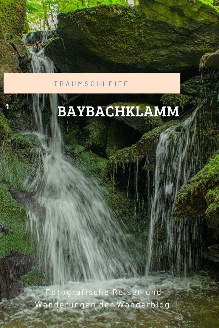 Traumschleife Baybachklamm Pinterest