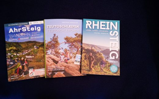 Neue Wanderführer aus dem ideemedia Verlag