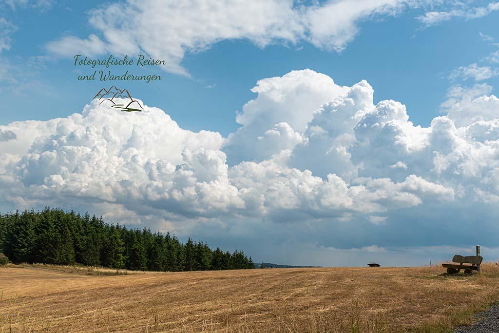 Gewitterwolken über Schalkenmehren