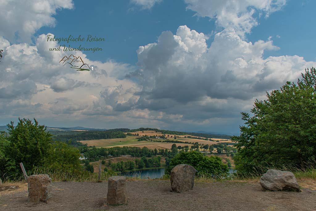 Weinfelder Maar -Der Eifelsteig und die Maare