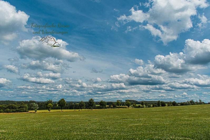 Tief fliegende Wolken, ein Genuss für die Sinne