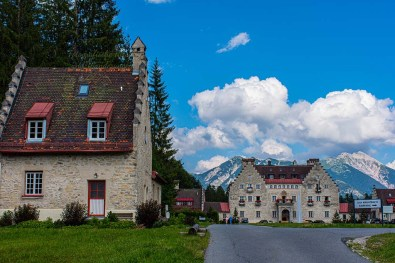 Schloss Kranzbach-Um die Zugspitze