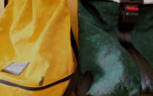 Früher Airbag - Jetzt Rucksack