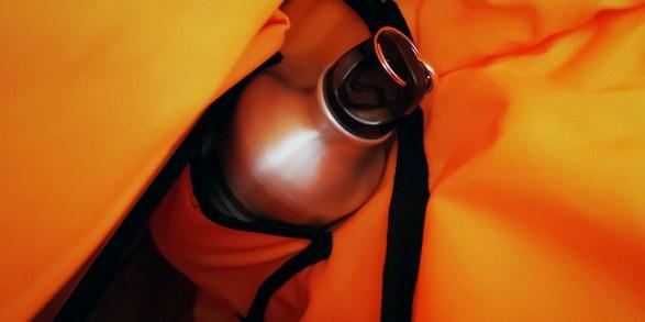 Meine Trinkflasche im Airpaq