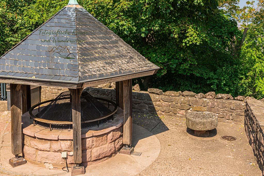 Brunnen am Kyffhäuser