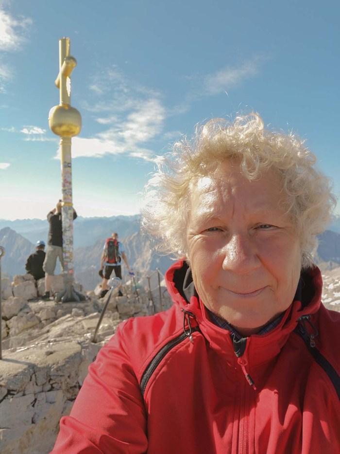 Auf der Zugspitze - Gipfelerfahrung