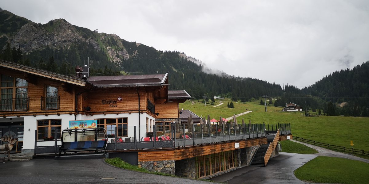 Seilbahnstation Ehrwald am Berg