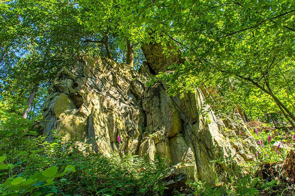 Naturtempel der Kelten - Die Felsen