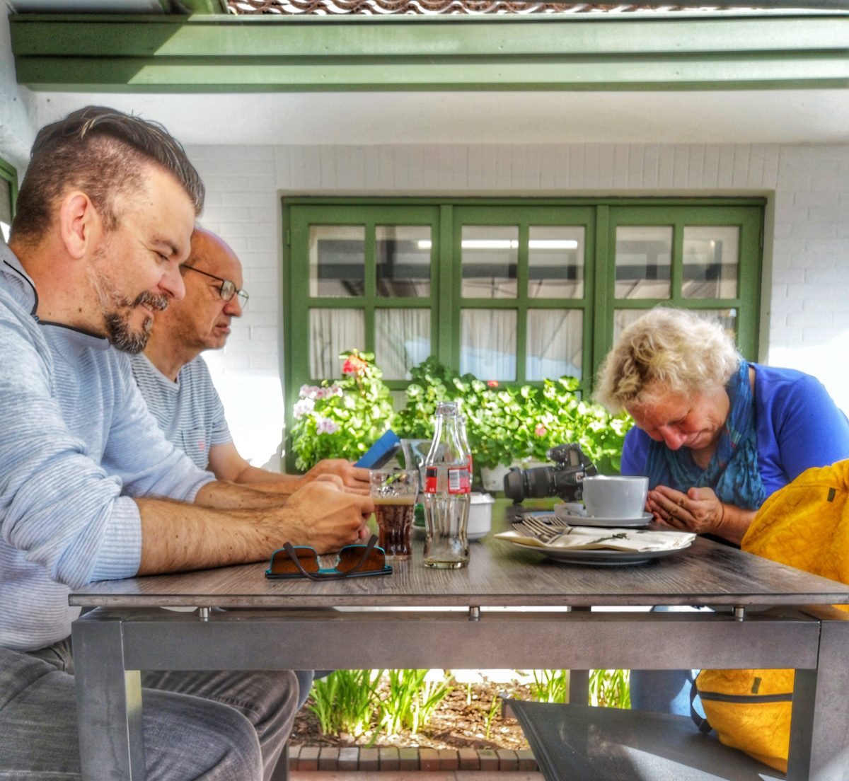 Drei Blogger at work