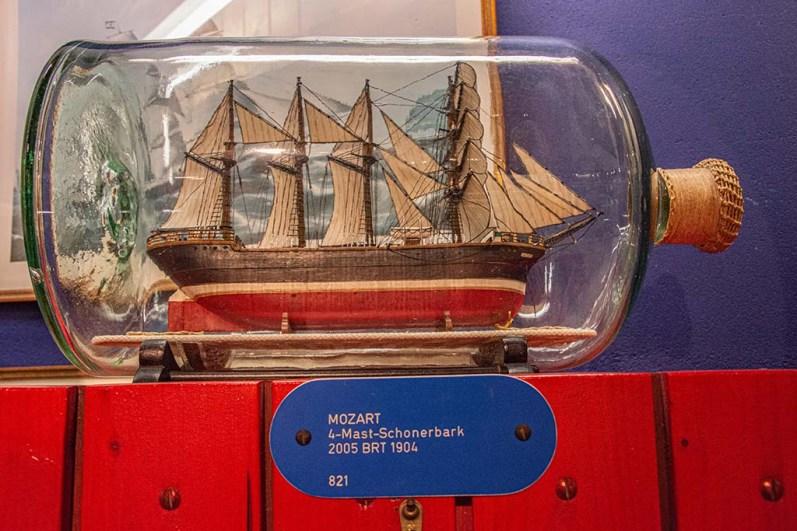 BuddelschiffSchwedische Postjagt