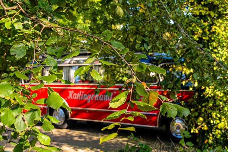 Drei Blogger im Kurpark Neuharlingersiel
