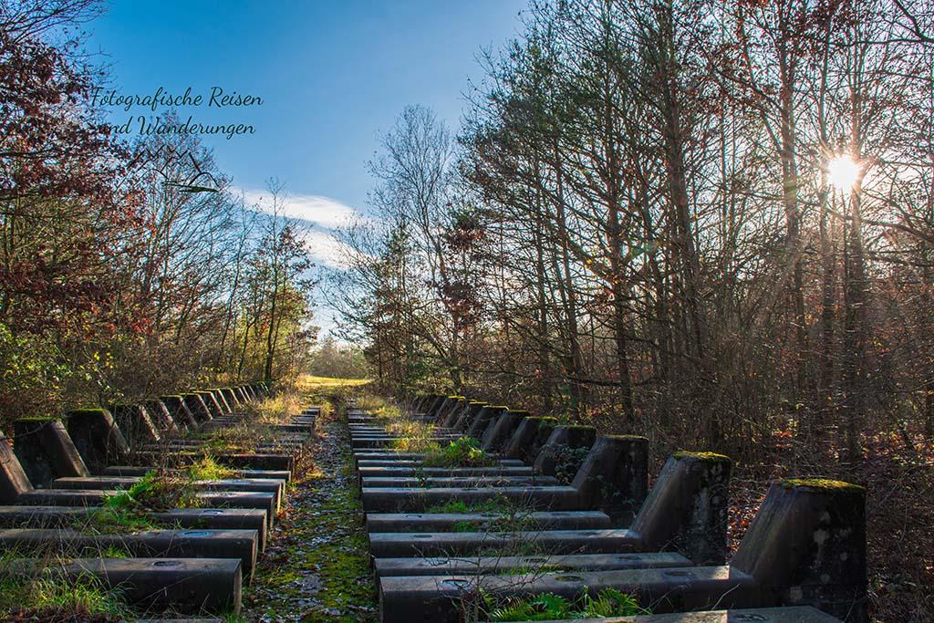 Drover Berg Tunnel Wanderweg - Panzerwaschanlage