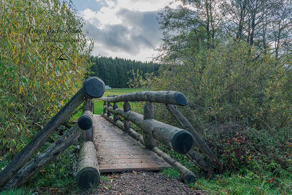 Spätrömtsche Brücke über die URft