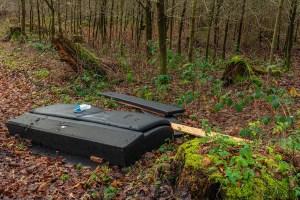 Müll auf Wanderwegen :(