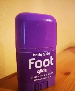 Foot Glide - Blasen beim wandern vorbeugen