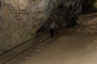 Wanderschnecken in der Eifel unterwegs - Kakushöhle