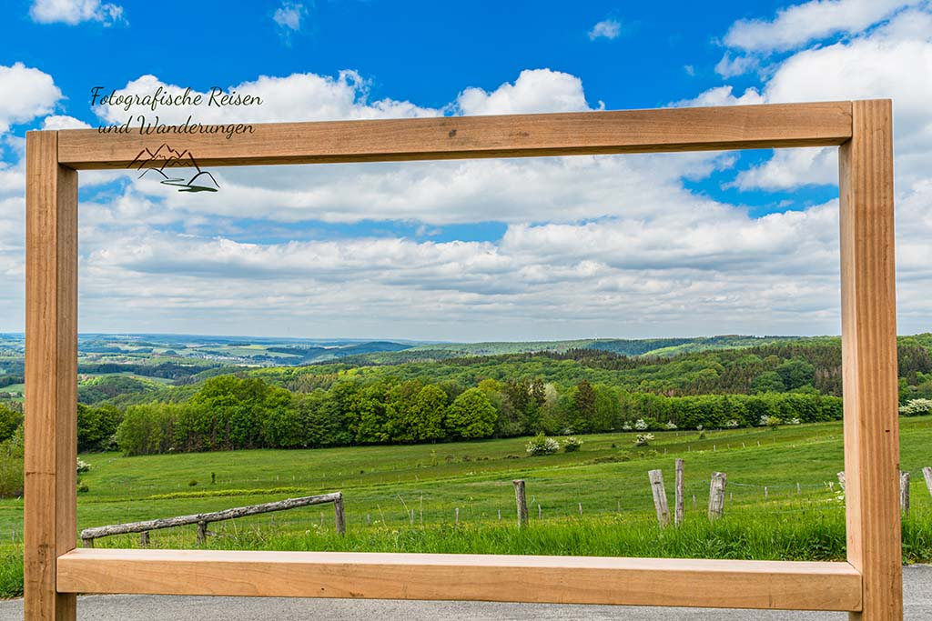 Landschaftsfenster der Eifelspur Mündereifelsteig