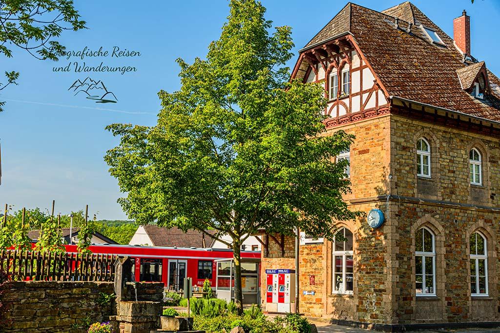 An der Ahr unterwegs - Bahnhof Bad Bodendorf