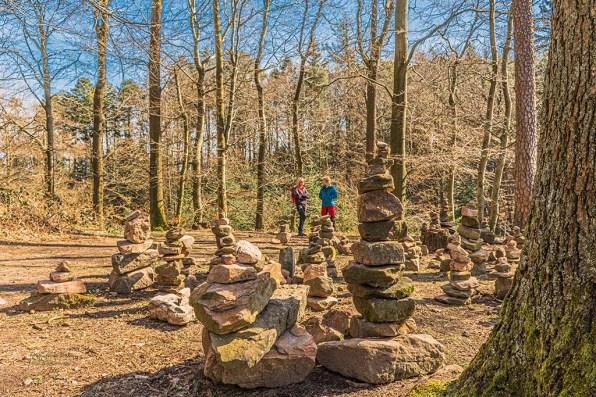 Steinmännchen in der Pfalz