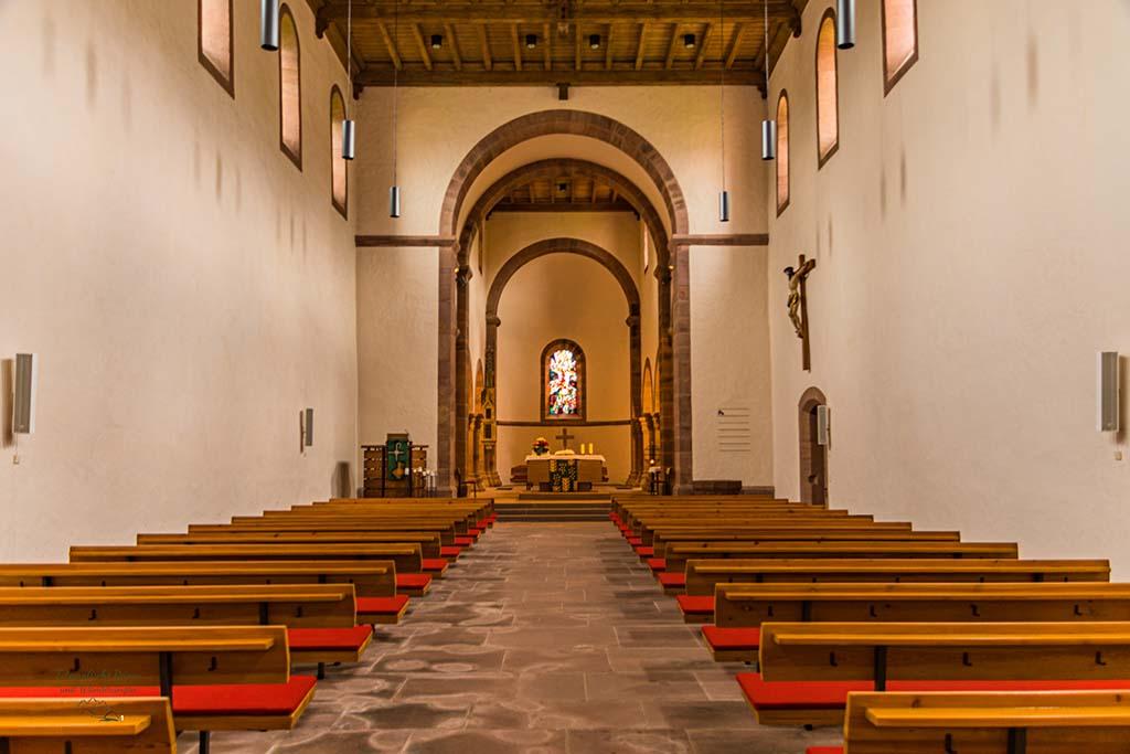 Das Innere der Klosterkirche Reichenbach