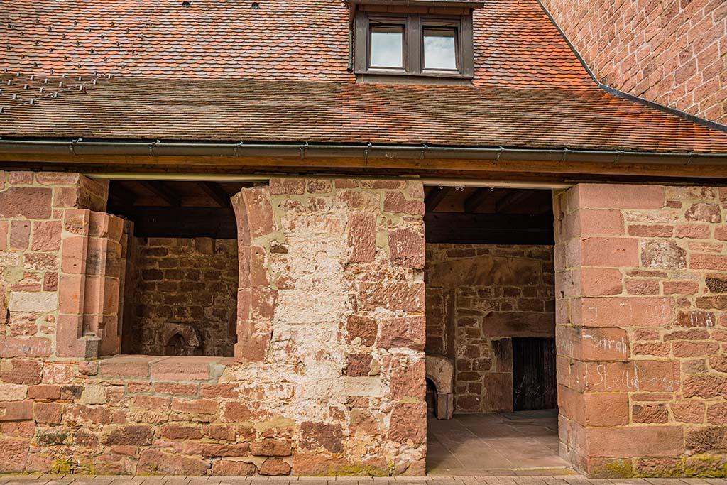 Kleiner Nebeneingang Klosterkirche Reichenbach