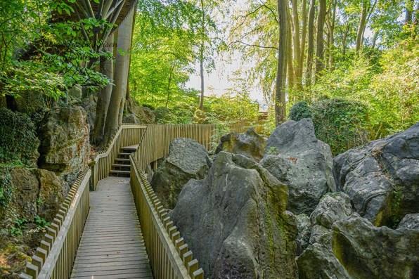 Weg durch das Felsenmeer