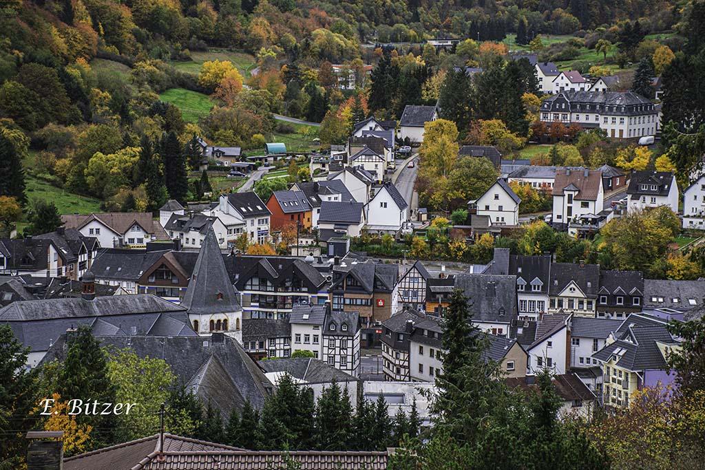 Blick auf Adenau