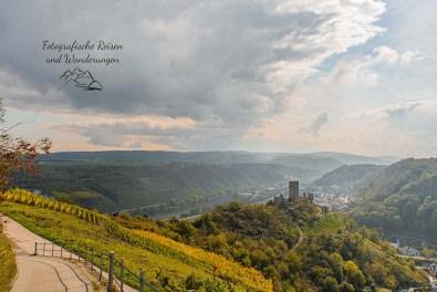 Blick auf die Niederburg Kobern Gondorf