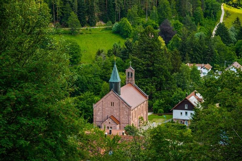 Kirche von Enzklösterle