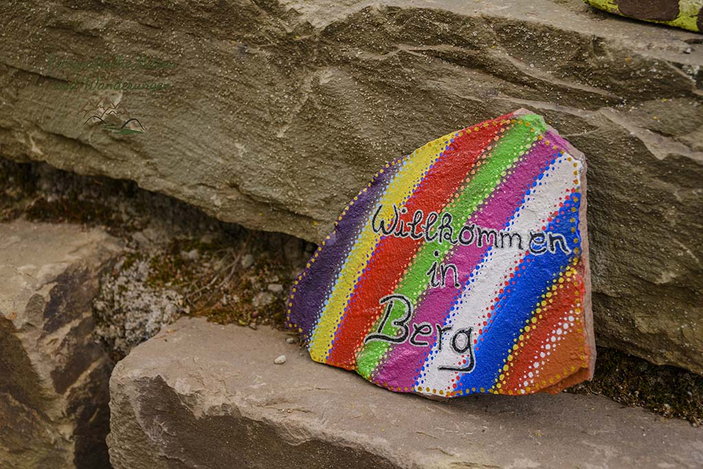 Bunte Steine, in Coronazeiten sehr bliebt