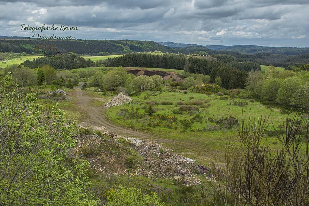 Blick in die Lavagrube Deudesfeld