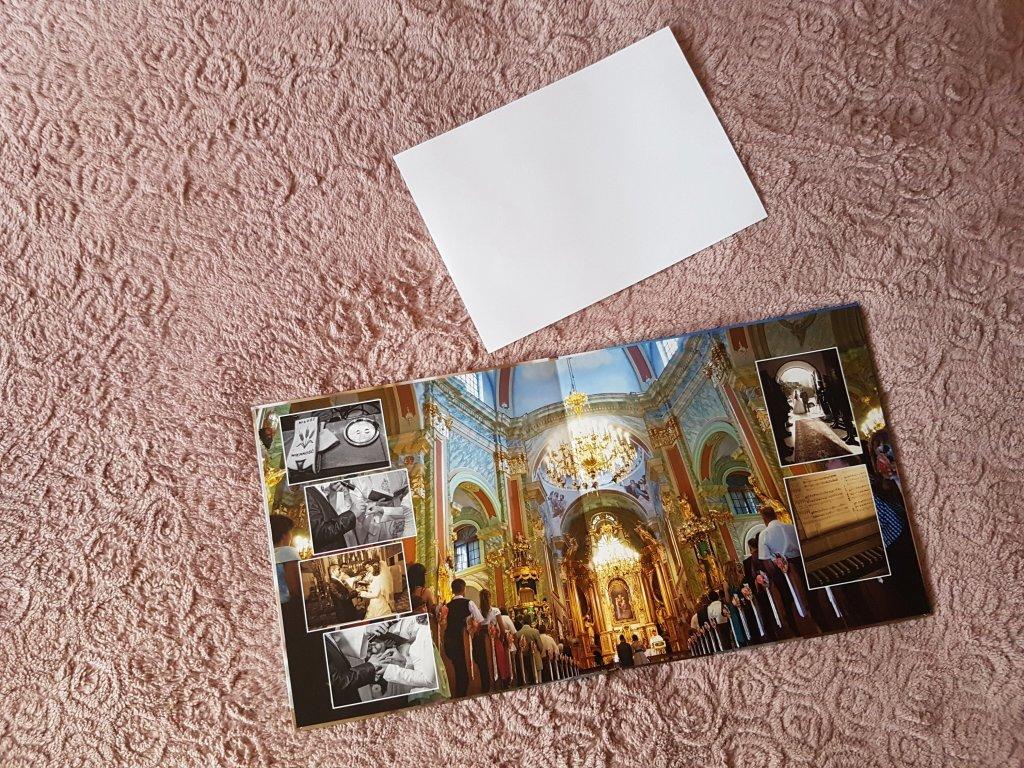 Porównanie wielkości fotoksiążki 30x30 z kartką A4