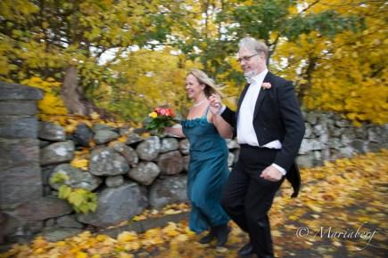 Bröllop med höstens färger