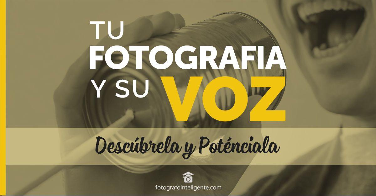 tu fotografía y su voz - fotografo inteligente