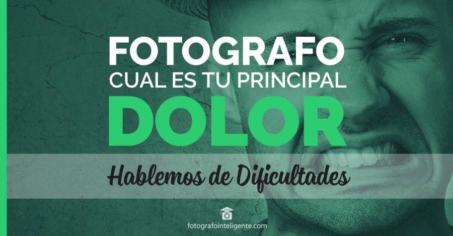 Fotografo Dolor y dificultades