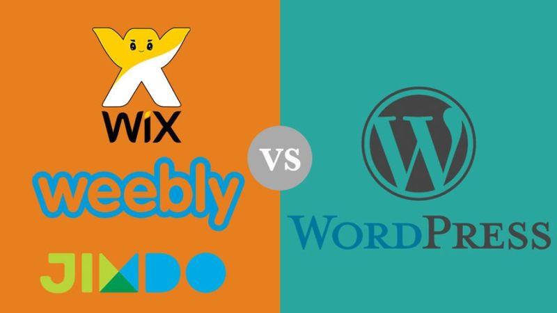 web de fotografia en wix o wordpress