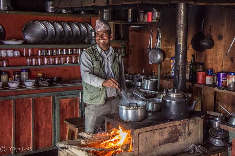 Cocina de un Lodge