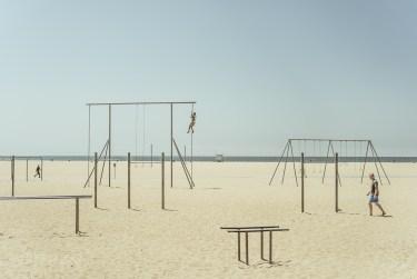 Słynna Muscle Beach w Santa Monica