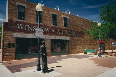 Winslow, słynny corner z piosenki