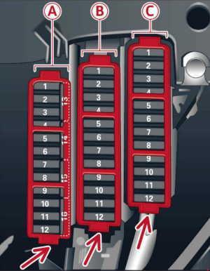 20132016 Audi A5 Fuse Box Diagram » Fuse Diagram
