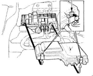 19941999 Honda Odyssey (RA1RA5) Fuse Box Diagram » Fuse