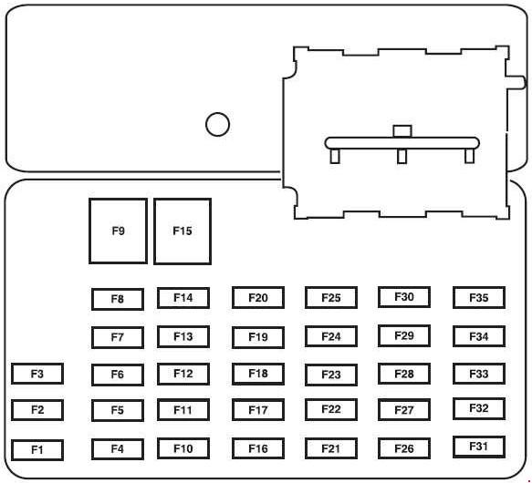 Wiring Diagram  27 2006 Ford Escape Fuse Box Diagram