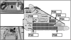 20042010 BMW 6 (E63, E64) Fuse Box Diagram » Fuse Diagram