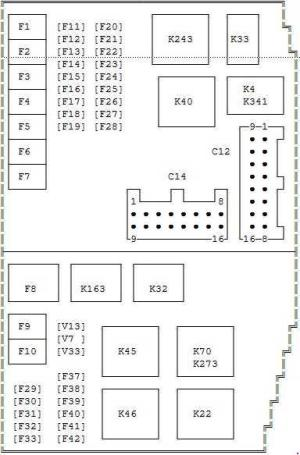 20002007 Ford Mondeo MK3 Fuse Box Diagram » Fuse Diagram