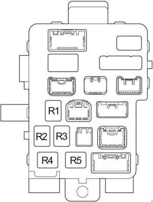 20042006 Toyota Tundra Double Cab Fuse Box Diagram » Fuse