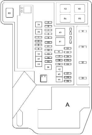 20092015 Toyota Prius (XW30) Fuse Box Diagram » Fuse Diagram