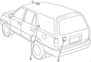 19962002 Toyota 4Runner Fuse Box Diagram » Fuse Diagram